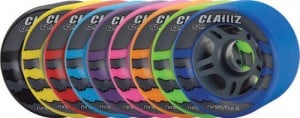 Roller Skate Wheels in Multiple Colors