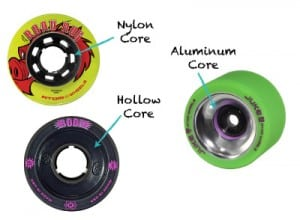 Different types of wheel hub core materials