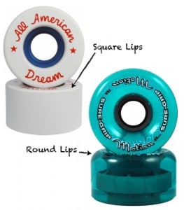 Roller Skate Wheel Lips / Edges