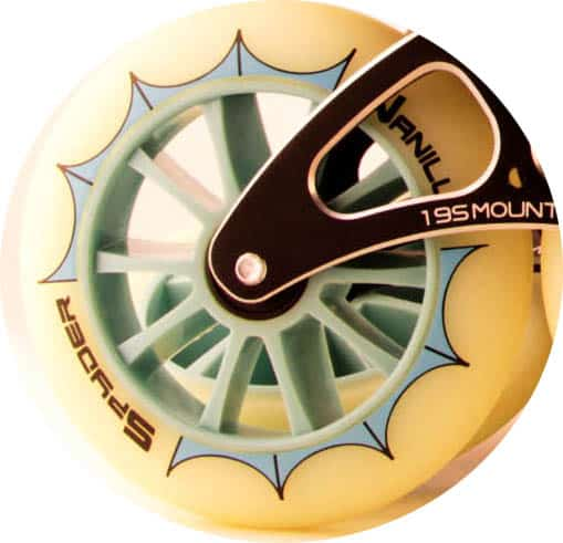 Vanilla Spyder Wheel Closeup