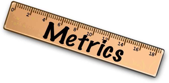 Metrics are Cool