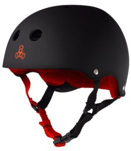 Triple 8 Black Helmet