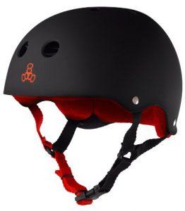 Triple 8 Black Helmet