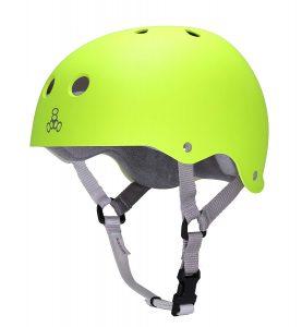 Triple 8 Neon Green Helmet