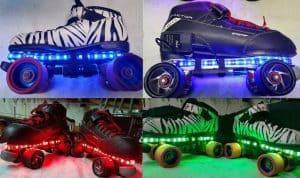 LED Light Up Roller Skates