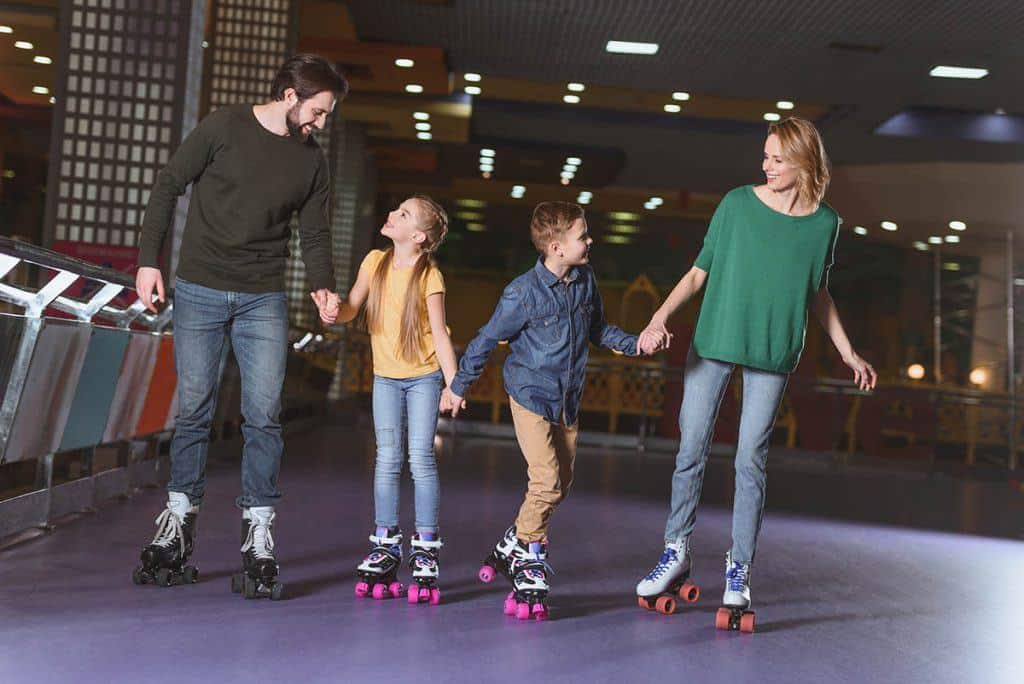 Roller Skating is Fun for the Family