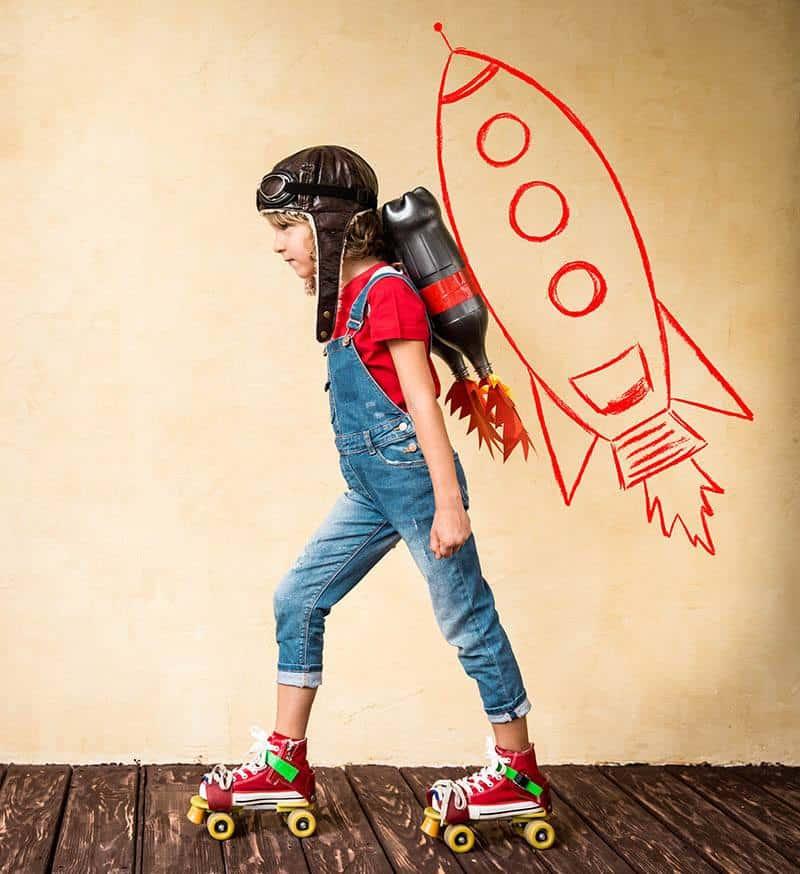 Rocket Roller Skater