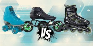 Rollerblades vs. Roller Skates vs. Inline Skates