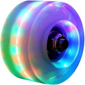 Florybercea Light Up Roller Skate Wheels