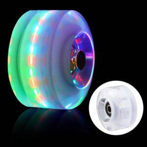 Skylety LED Light-Up Roller Skate Wheels